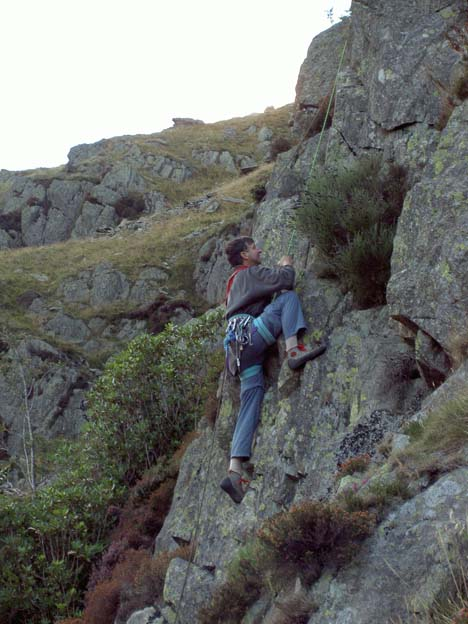 Rod Muncey on Buckbarrow
