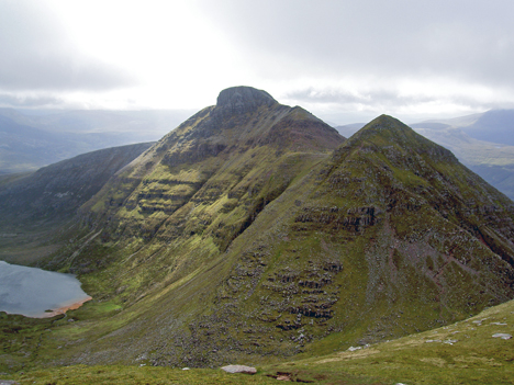 Quinag, the Corbett with 3 tops, that never fails to please