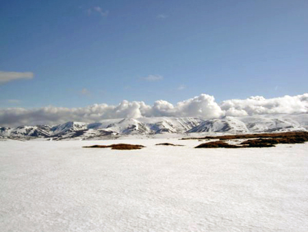 The Eastern Cairngorms from the summit of Geal Charn